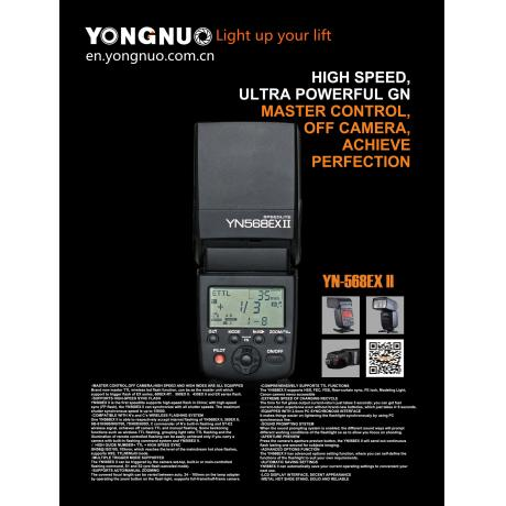 YONGNUO master control flash speedlight YN-568EXII for Canon