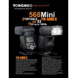 YONGNUO HIGH-SPPEED SYNC FLASH SPEEDLITE YN500EX