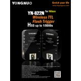 Yongnuo Wireless TTL Flash Trigger YN-622N For Nik...