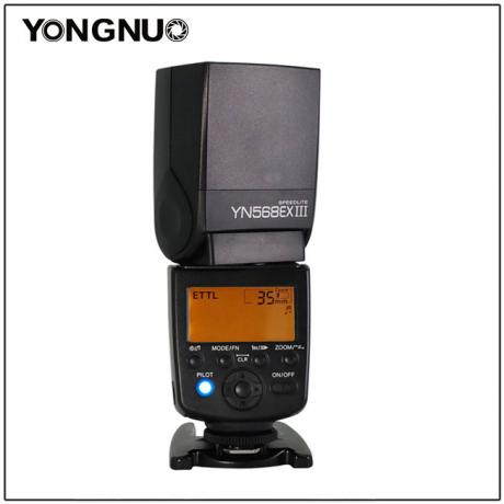 YONGNUO YN568EX III Supports C's Optical Transportation wireless Master Flash