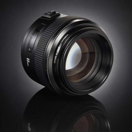YONGNUO Lens YN85mm F1.8 AF/MF Standard Medium Prime Fixed Telephoto Lens for Canon
