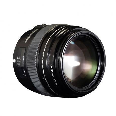 YONGNUO YN100mm F2N Lens with USB Interface Access to Better Performance
