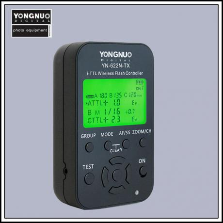 YN-622N-TX i-TTL wireless flash controller